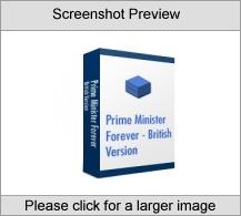 Prime Minister Forever - British Version Software